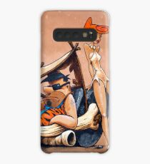 The Flintstones go Lowbrow Case/Skin for Samsung Galaxy