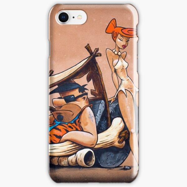 The Flintstones go Lowbrow iPhone Snap Case