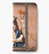 The Flintstones go Lowbrow iPhone Wallet/Case/Skin