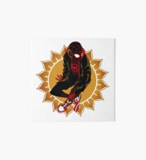 Sunflower Spider Art Board Print