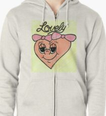 Lovely Zipped Hoodie