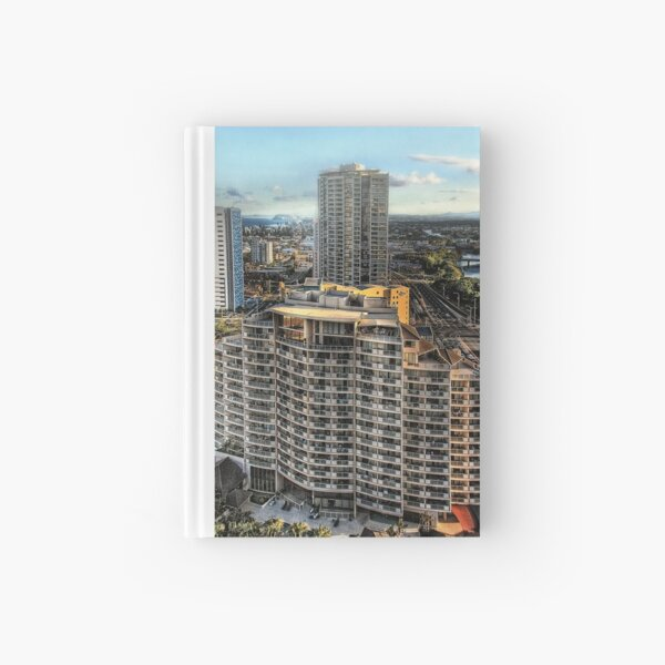 View from level 29 Hardcover Journal