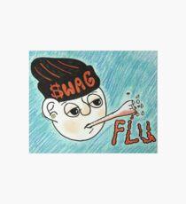 Swag Flu  Art Board