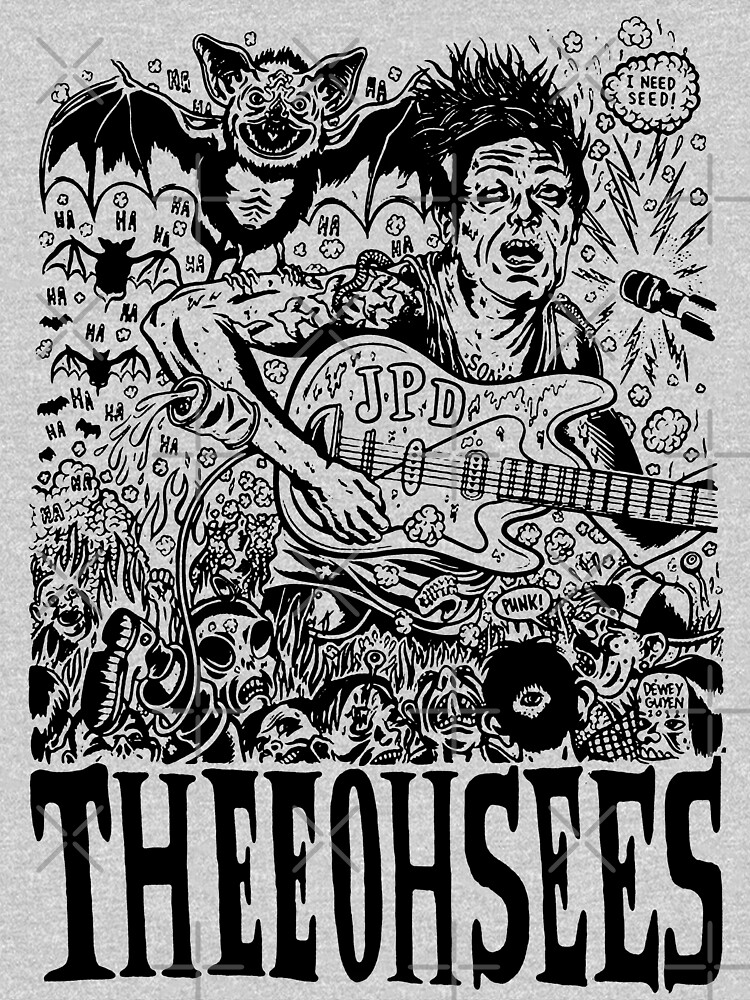 Thee oh sees Help by malditxsea