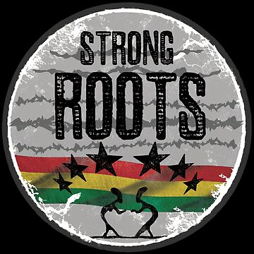 strong roots reggae von Periartwork