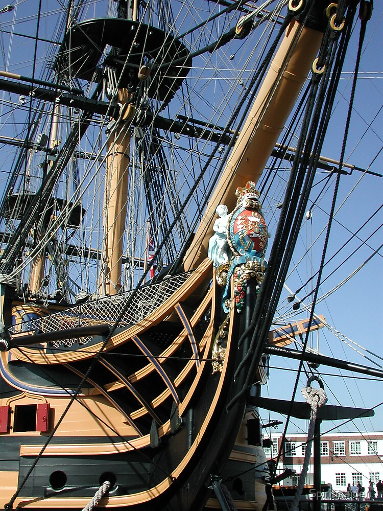 HMS Victory by Spiritmaiden