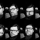 Self-Portrait; or Eight Shades of Idiocy  by Richard Pitman