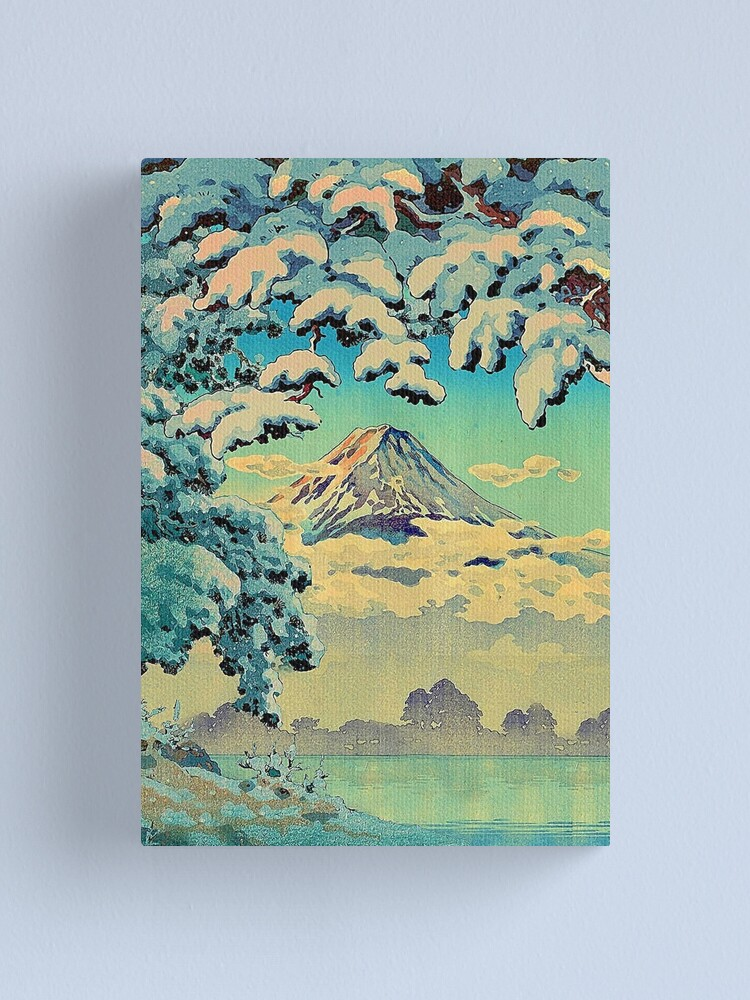 Alternate view of Kehiin in the Snow Canvas Print