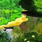 Weinlese Felix Vallotton La Dordogne ein Carennac 1925 von AllVintageArt