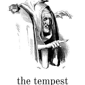 The Tempest William Shakespeare Illustration by buythebook86