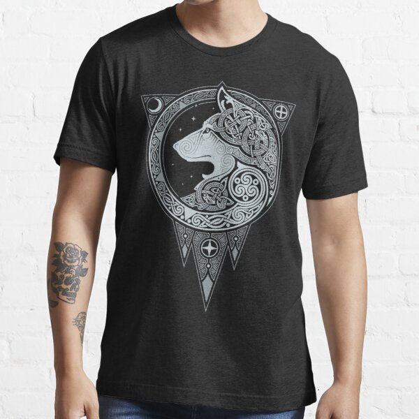 NORSE ULV. SILVER. Essential T-Shirt