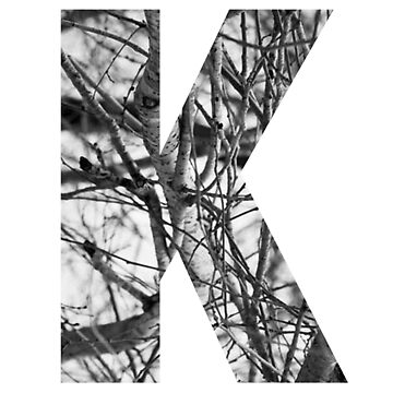 Tree letter K by PCollection