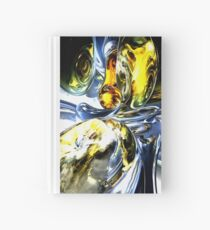 Lost in Space Abstract Hardcover Journal