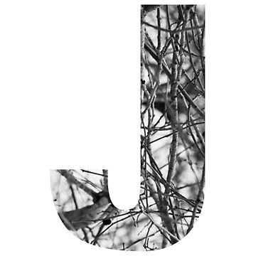 Tree letter J by PCollection