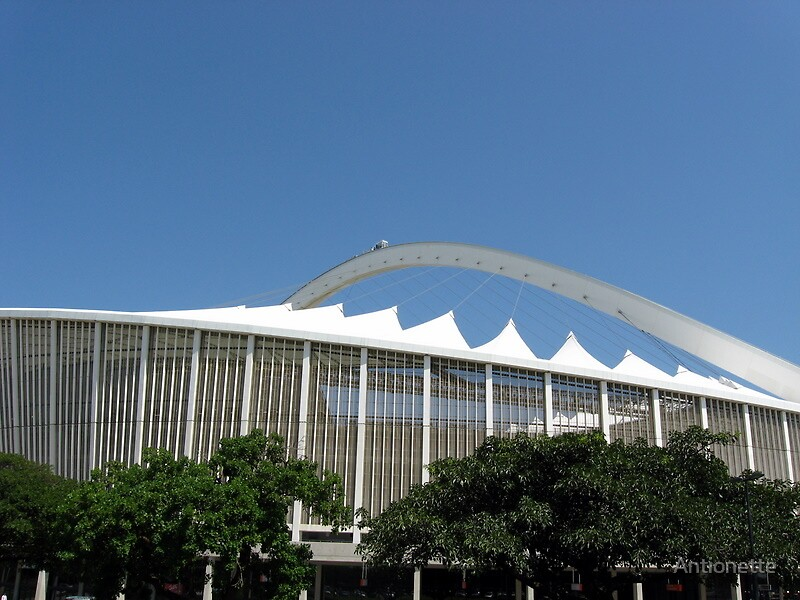 Moses Mabida Stadium  by Antionette