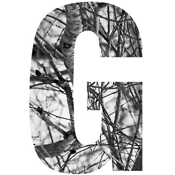 Tree letter G by PCollection