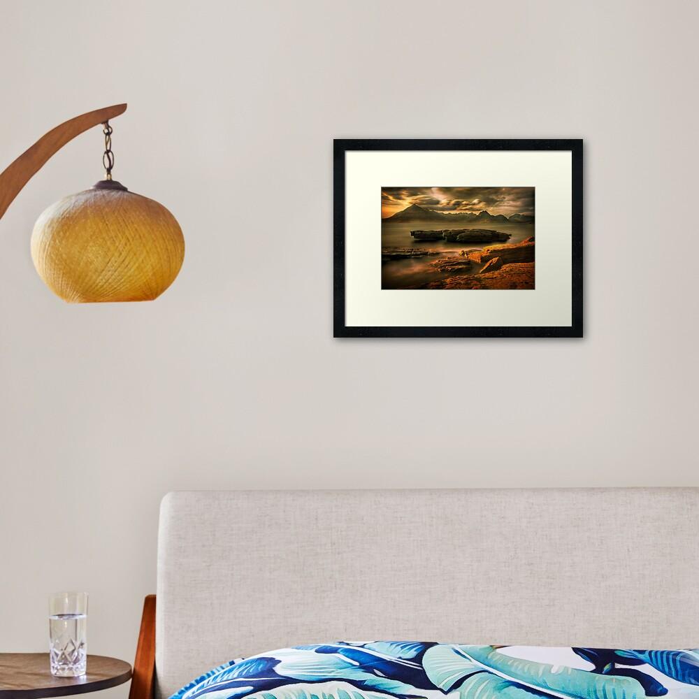 Elgol (2) Framed Art Print