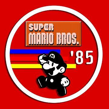 Mario '85 by EchoSoloArt