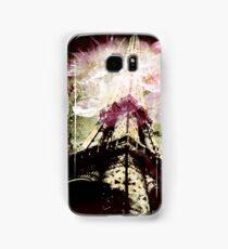 Paris, Springtime in Pink Samsung Galaxy Case/Skin