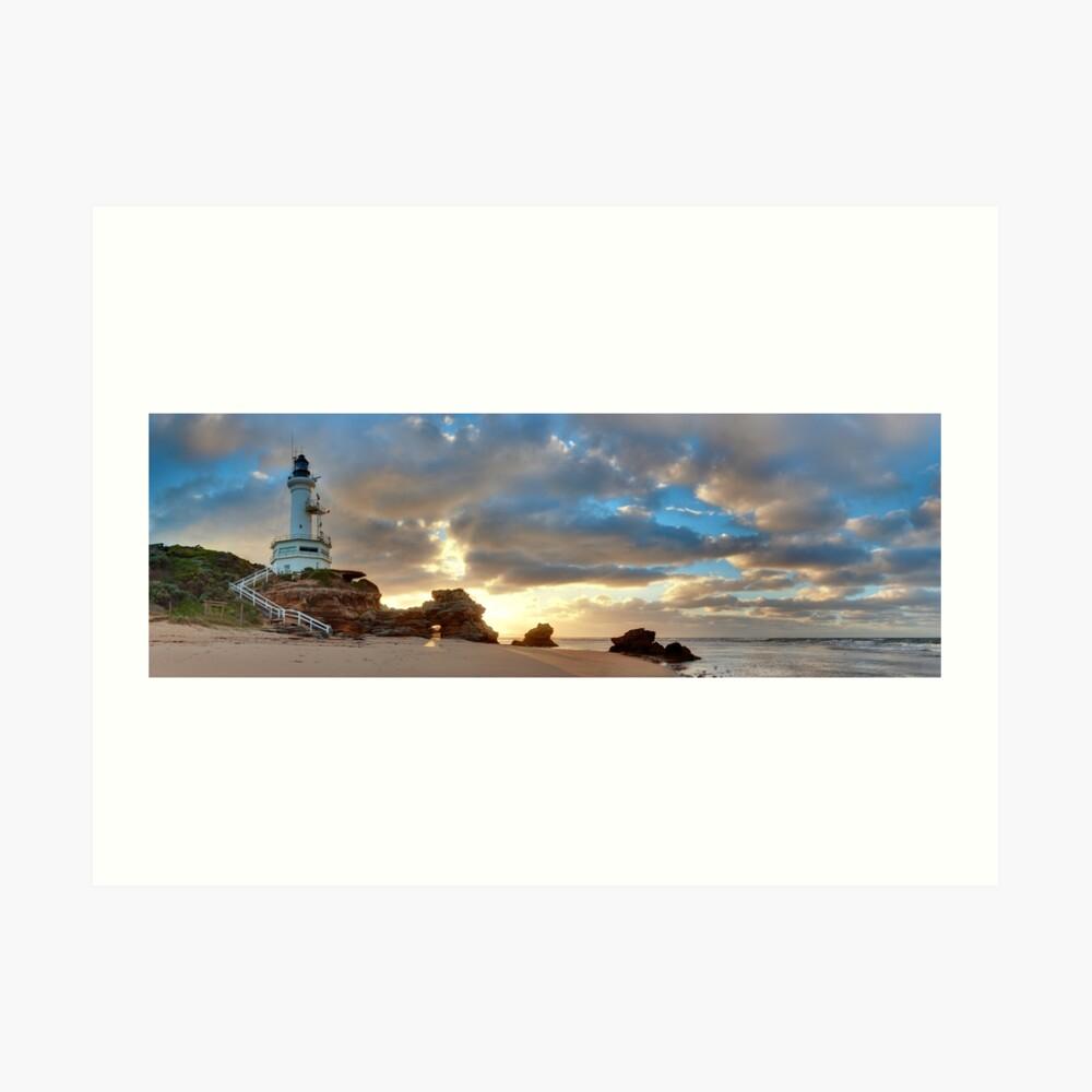 Point Lonsdale Lighthouse Awakens, Australia Art Print