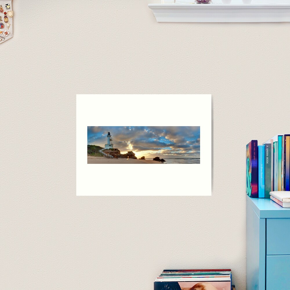 Point Lonsdale Lighthouse Awakens, Australia Art Print