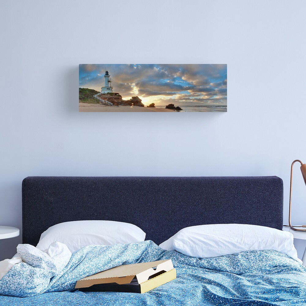 Point Lonsdale Lighthouse Awakens, Australia Canvas Print