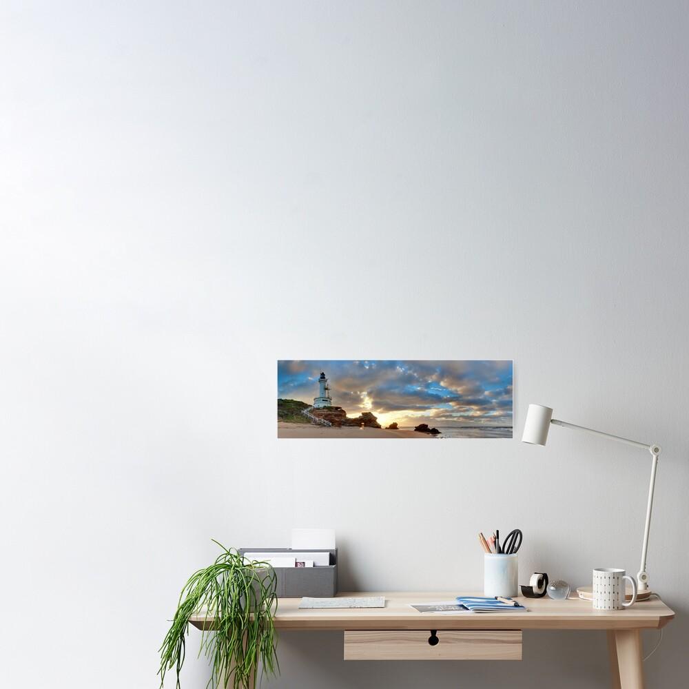 Point Lonsdale Lighthouse Awakens, Australia Poster