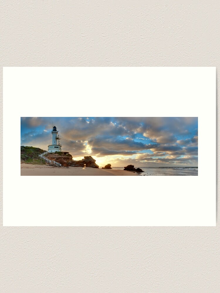 Alternate view of Point Lonsdale Lighthouse Awakens, Australia Art Print