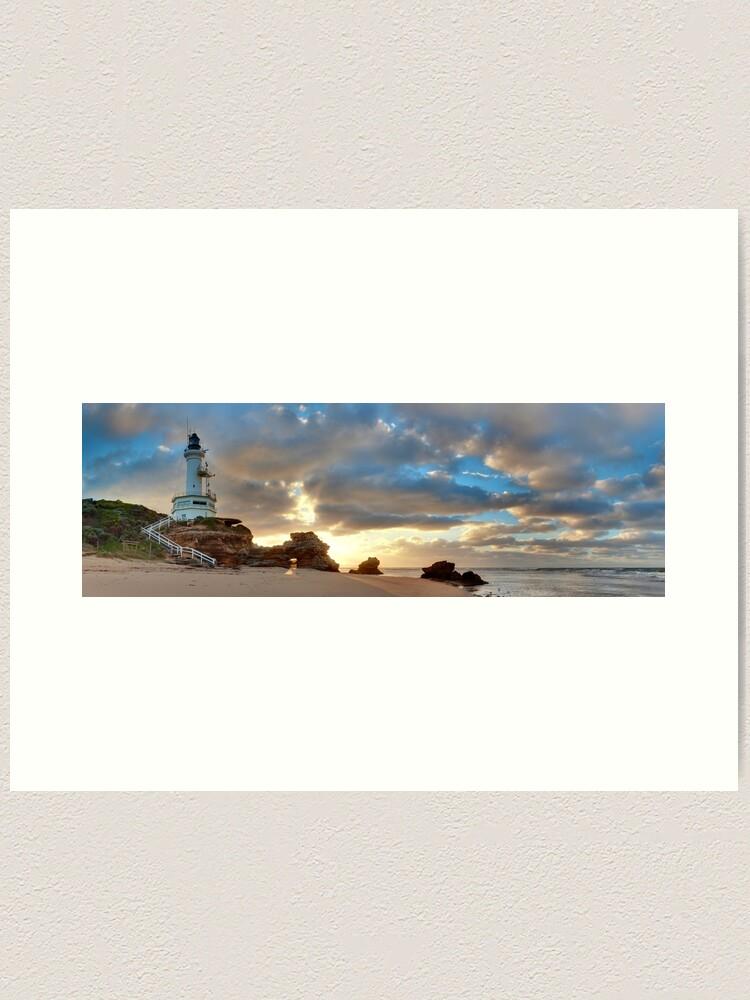 Alternate view of Point Lonsdale Lighthouse Awakens, Australia Art Print