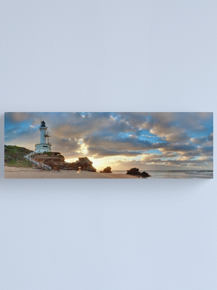 Alternate view of Point Lonsdale Lighthouse Awakens, Australia Canvas Print