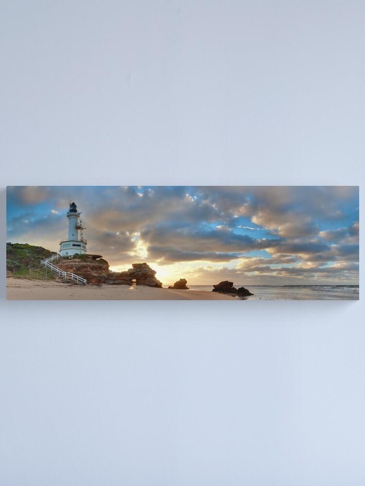 Alternate view of Point Lonsdale Lighthouse Awakens, Australia Canvas Print
