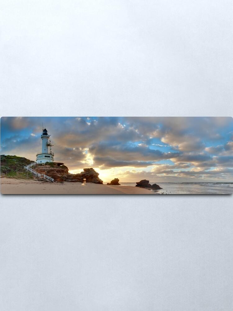 Alternate view of Point Lonsdale Lighthouse Awakens, Australia Metal Print