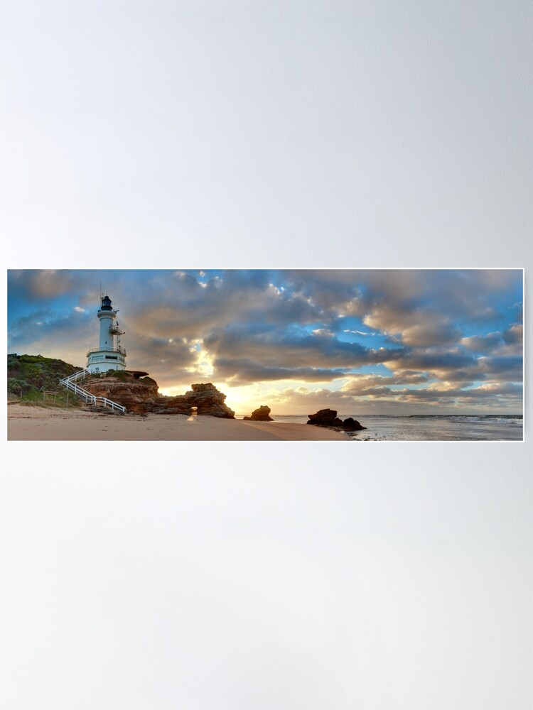 Alternate view of Point Lonsdale Lighthouse Awakens, Australia Poster
