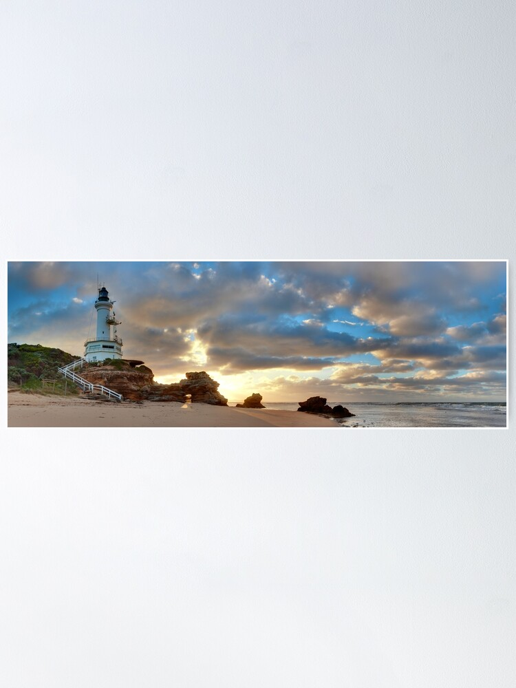 Alternate view of Point Lonsdale Lighthouse Awakens, Australia Poster