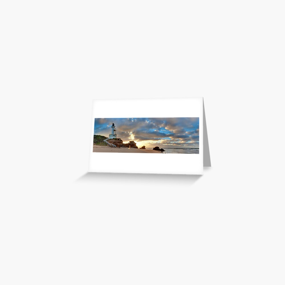 Point Lonsdale Lighthouse Awakens, Australia Greeting Card