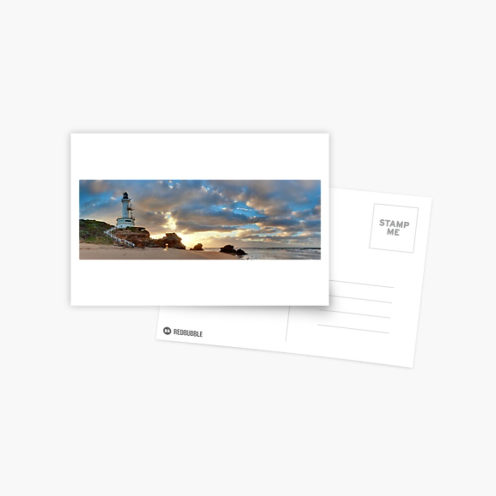 Point Lonsdale Lighthouse Awakens, Australia Postcard