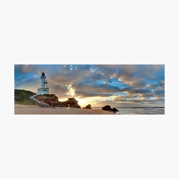 Point Lonsdale Lighthouse Awakens, Australia Photographic Print
