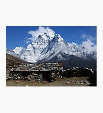 Home at Dingboche - Nepal Photographic Print