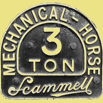 Scammell 3 Ton Mechanical Horse badge logo by soitwouldseem