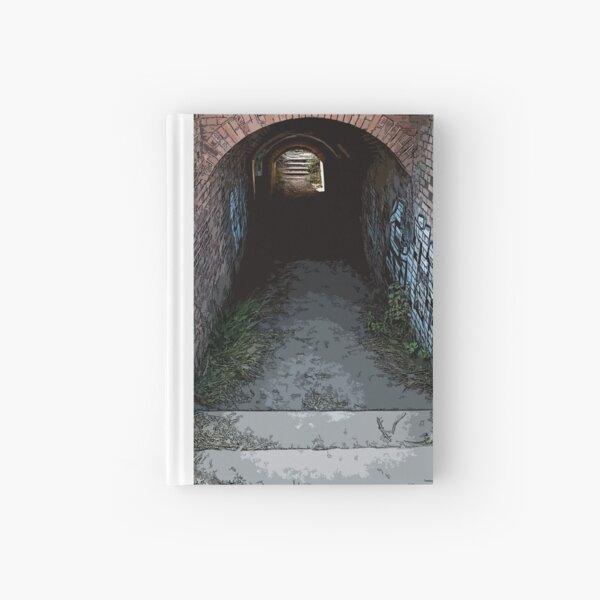 tunnel walkway Hardcover Journal