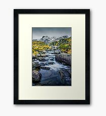 Snowdonia Mountains Framed Print