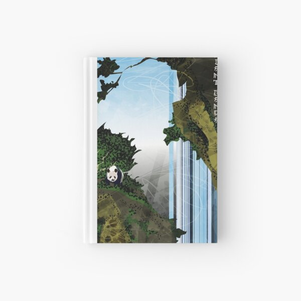 Giant Panda Falls Hardcover Journal
