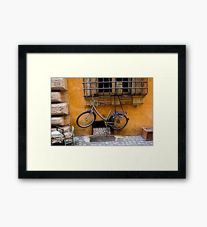 Go On Try It! Framed Print