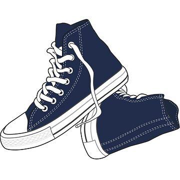 Zapato azul marino popular del vintage retro de tlaprise