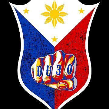 Filipino Pride Flag DU30 by bigtimmystyle