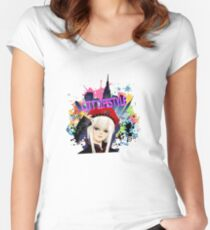 City LifeStyle Women's Fitted Scoop T-Shirt