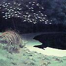 Jahrgang Felix Vallotton La Mare 1909 von AllVintageArt