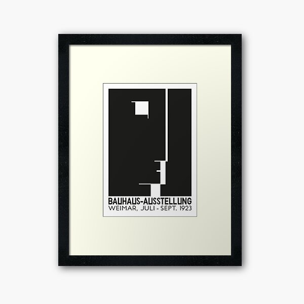 Bauhaus#9 Framed Art Print