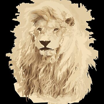 The portrait of the lion by DeerFutureMe