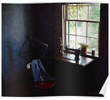 Silent Sewing Room Poster